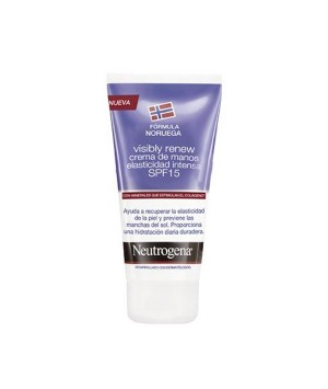NEUTROGENA VISIBLY RENEW SPF 25 CREMA DE MANOS ELASTICIDAD INTENSA 75 ML