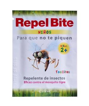 REPEL BITE NIÑOS TOALLITAS REPELENTE 16 TOALLITAS