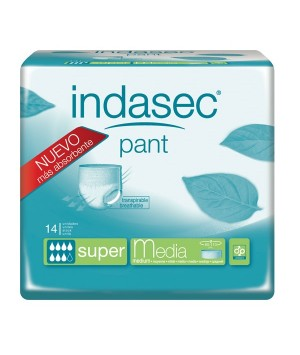 ABSORB INC ORINA DIA ANAT INDASEC PANT SUPER T- MEDIA 14 U