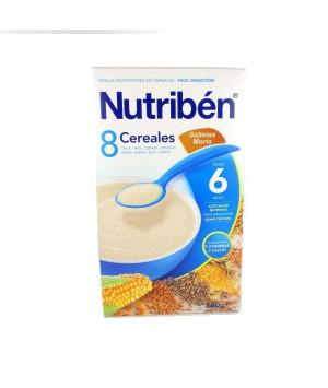 NUTRIBEN PAPILLA 6 CEREALES CON GALLETAS MARIA  600 G