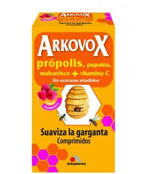ARKOVOX PROPOLIS + VITAMINA C COMP MASTICABLES  24 COMP SABOR FRAMBUESA