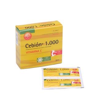 CEBION 1000 GRANULADO SOLUCION ORAL  12 SOBRES