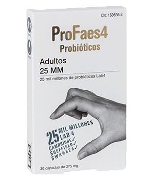 PROFAES4 PROBIOTICO ADULTOS  25 MM (MILMILLONES)  30 CAPSULAS