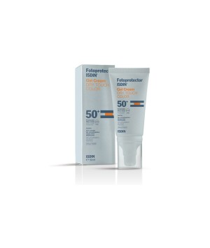 FOTOPROTECTOR ISDIN SPF-50+ GEL CREMA  COLOR 50 ML