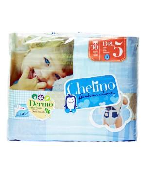 PAÑAL INFANTIL CHELINO FASHION & LOVE T- 5 (13 - 18 KG) 30 PAÑALES