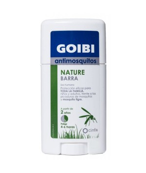 GOIBI ANTIMOSQUITOS NATURE BARRA USO HUMANO REPELENTE 50 ML