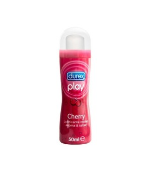 DUREX PLAY LUBR CHERRY 50