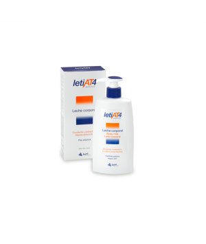 LETI AT 4 LECHE CORPORAL 500 ML