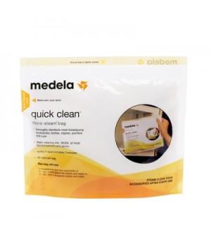 MEDELA BOLSAS PARA MICROONDAS REUTILIZABLES QUICK CLEAN 5 U