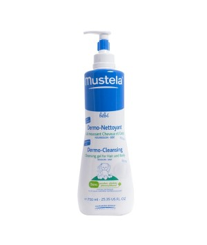 MUSTELA GEL BAÑO SUAVE 750ML PIEL NORMAL