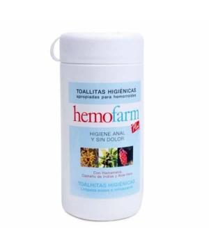 HEMOFARM TOALLITAS 60