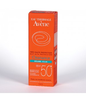 AVENE CLEANANCE SOLAR SPF 50+ MUY ALTA PROTECCION  1 ENVASE 50 ML