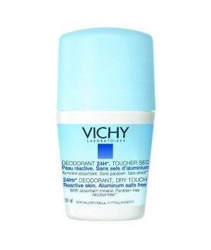 VICHY DESODORANTE  ANTIHUMED 24 H TACTO SECO 50ML