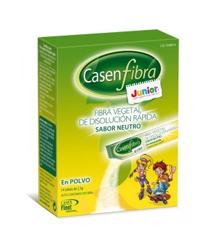 CASENFIBRA JUNIOR 14 STICKS EN POLVO  (SABOR NEUTRO)
