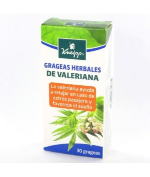 GRAGEAS HERBALES DE VALERIANA  30 GRAGEAS