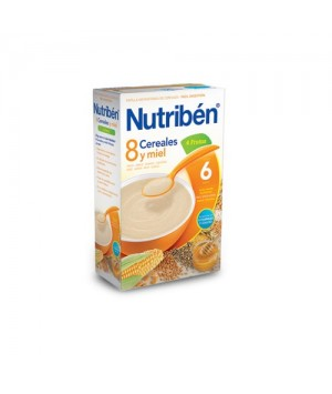 NUTRIBEN 8 CER M FRUTAS 600 G