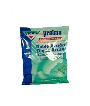VICKS PRAIMS DOBLE A S/A BOLSA 60