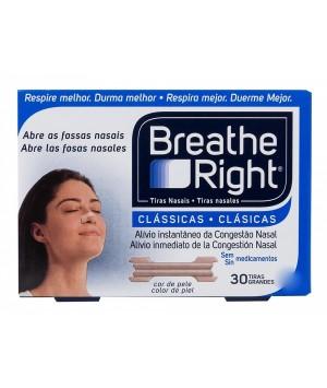 TIRA NASAL BREATHE RIGHT G 30 UNDS