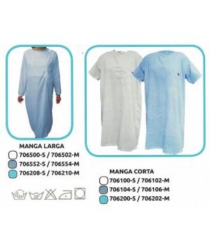UBIO CAMISON HOSPITALARIO ESTAMPADO MANGA/CORTA T/M REF:706106