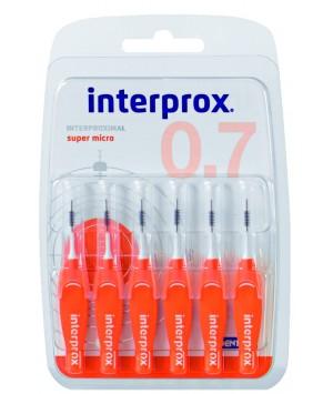 DENTAID CEPILLO INTERPROX SUPER MICR0 0.7 6UNDS