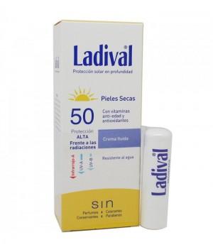 LADIVAL CREMA FLUIDA PIEL SECA SPF50+  50ML