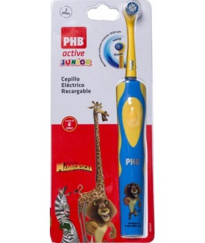 PHB CEPILLO DENTAL ELECTRICO RECARGABLE  ACTIVE JUNIOR 6 A+ (VERDE)