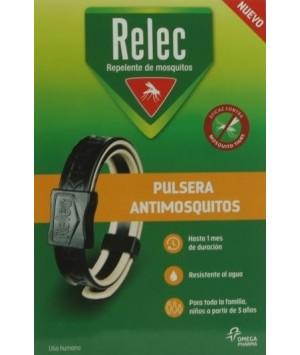 RELEC PULSERA ADULTO NEGRA 3A+
