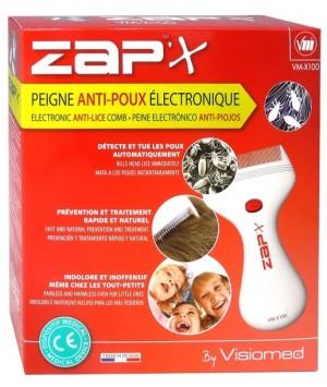 ZAP X  VM-X 100 PEINE ELECTRONICO ANTIPIOJOS LENDRERA