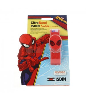 ISDIN CITROBAND ISDIN KIDS + UV TESTER PULSERA EDICION ESPECIAL SPIDERMAN C/ 2 RECARGA