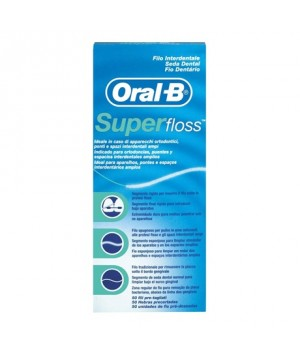 ORAL B SUPER FLOSS 50 UNI