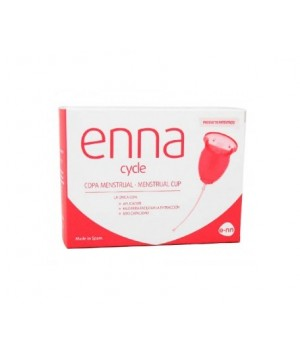 ENNA CYCLE COPA MENSTRUAL  T- M   2 UNDS