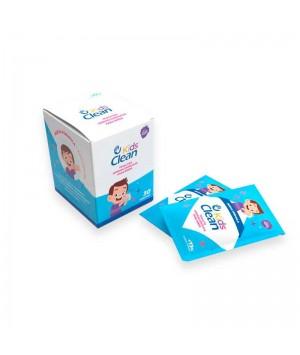 SIEMPRE CLEAN KIDS CLEAN TOALLITAS HIDROALCOHOLICAS PARA NIÑOS (OLOR BLACL BERRY) 30 UNDS. 3A+