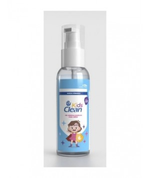 SIEMPRE CLEAN KIDS CLEAN SOLUCION HIDROALCOHOLICA PARA NIÑOS (OLOR BLACK BERRY) 100ML 3A+