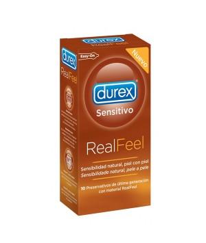 DUREX REAL FEEL PRESERVATIVO SIN LATEX 12 UNDS