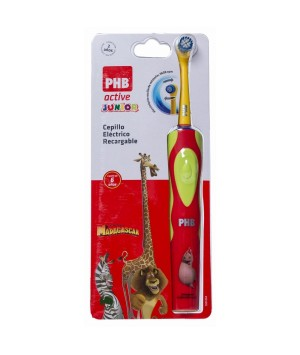 PHB CEPILLO DENTAL ELECTRICO RECARGABLE ACTIVE JUNIOR 6 A+ (ROJO)